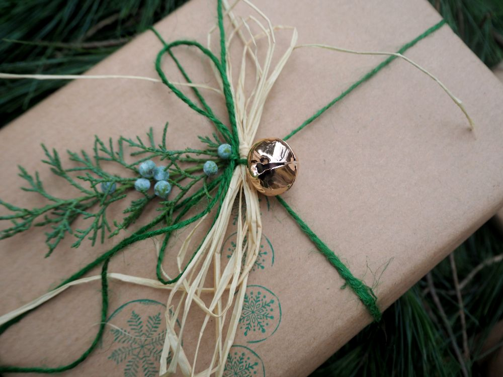 Balení vánočních dárků, vánoční dárky 2017