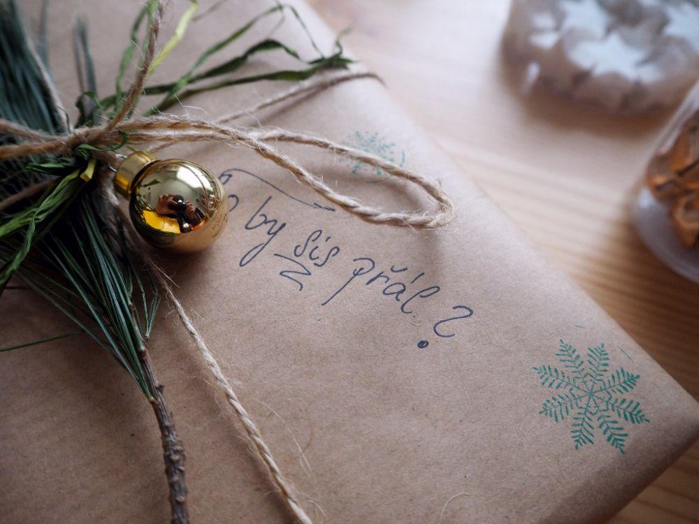 Balení vánočních dárků, Vánoce 2017, tipy na balení vánočních dárků