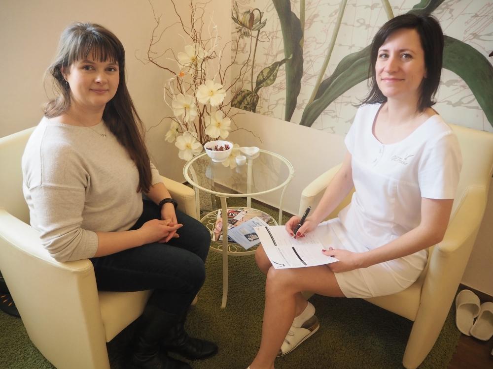 Reportáž ze zimního ošetření citlivé pleti kosmetikou GERnétic ve kosmetickém Studiu GERnétic v pražských Řepích.