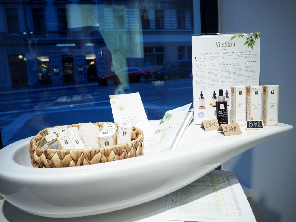 Green Beauty market 2017, Galerie Laufen, Kosmetika Éminence