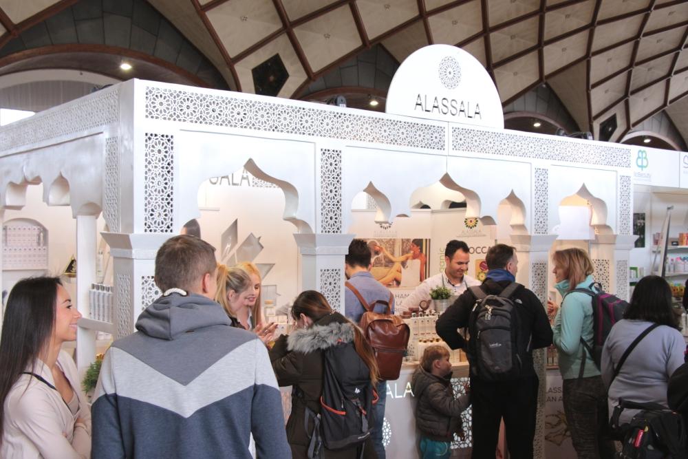 Festival Evolution, jaro 2018, stánek Alassala, Moroccan Sense