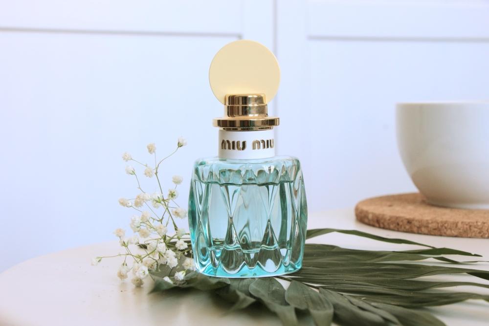 Recenze Miu Miu L' Eau Bleue: Jak Miu Miu vnímám po roce?