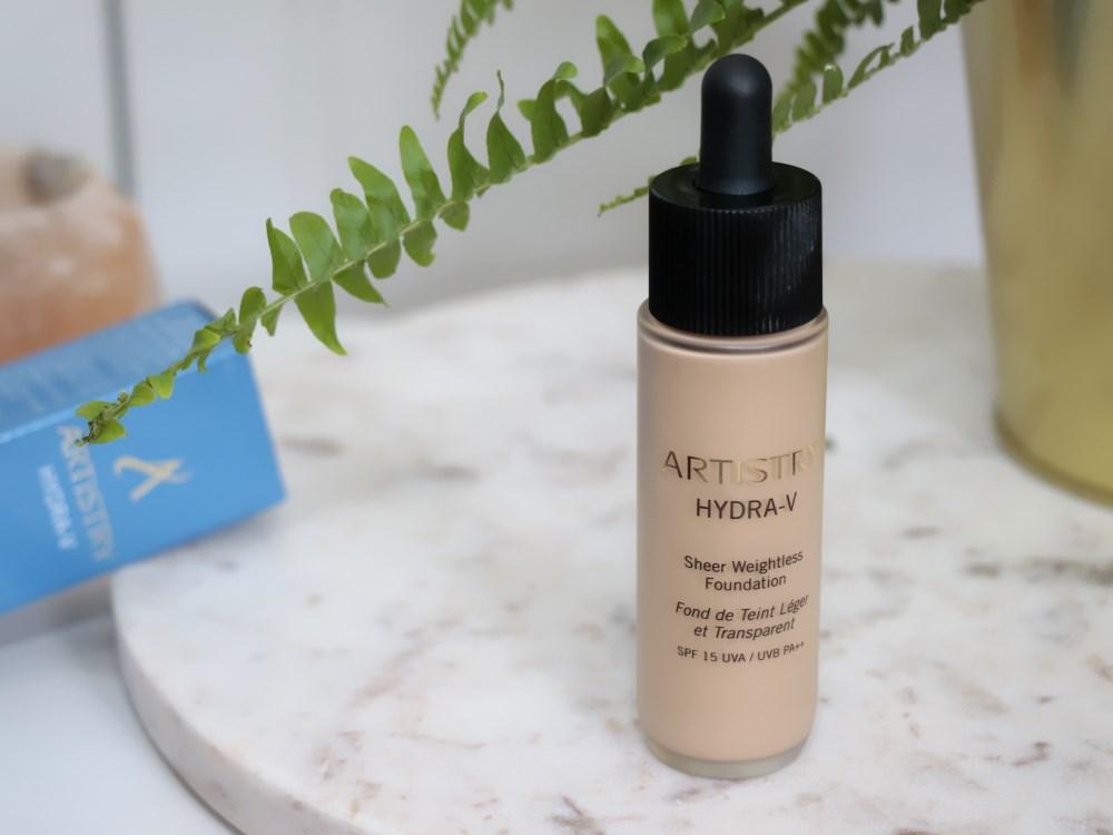Recenze nejlepšího make-upu roku 2018: Amway Artistry Hydra-V.