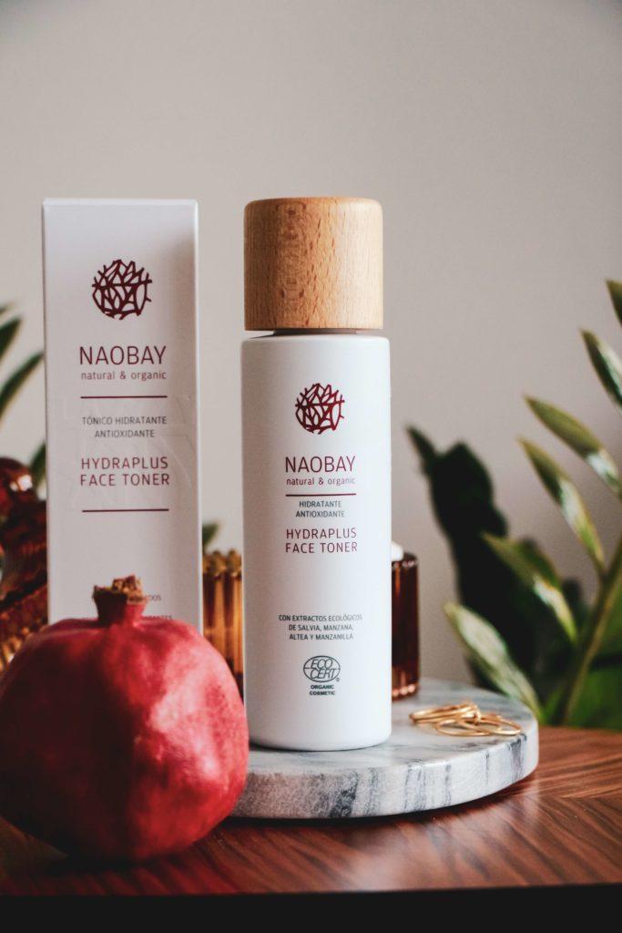 Recenze tonika Naobay Hydraplus s hydratačními účinky.