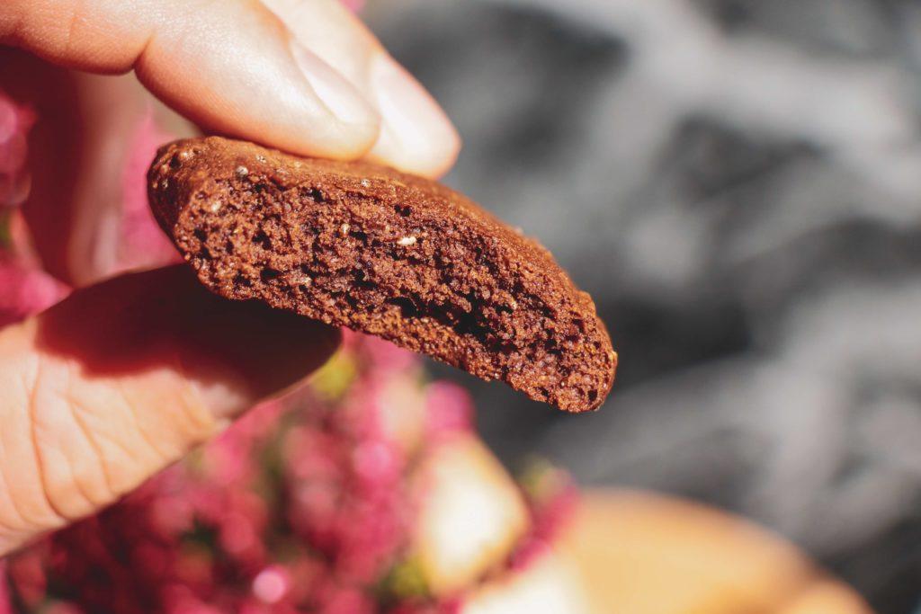 Recept na bezlepkové čokoládové sušenky.