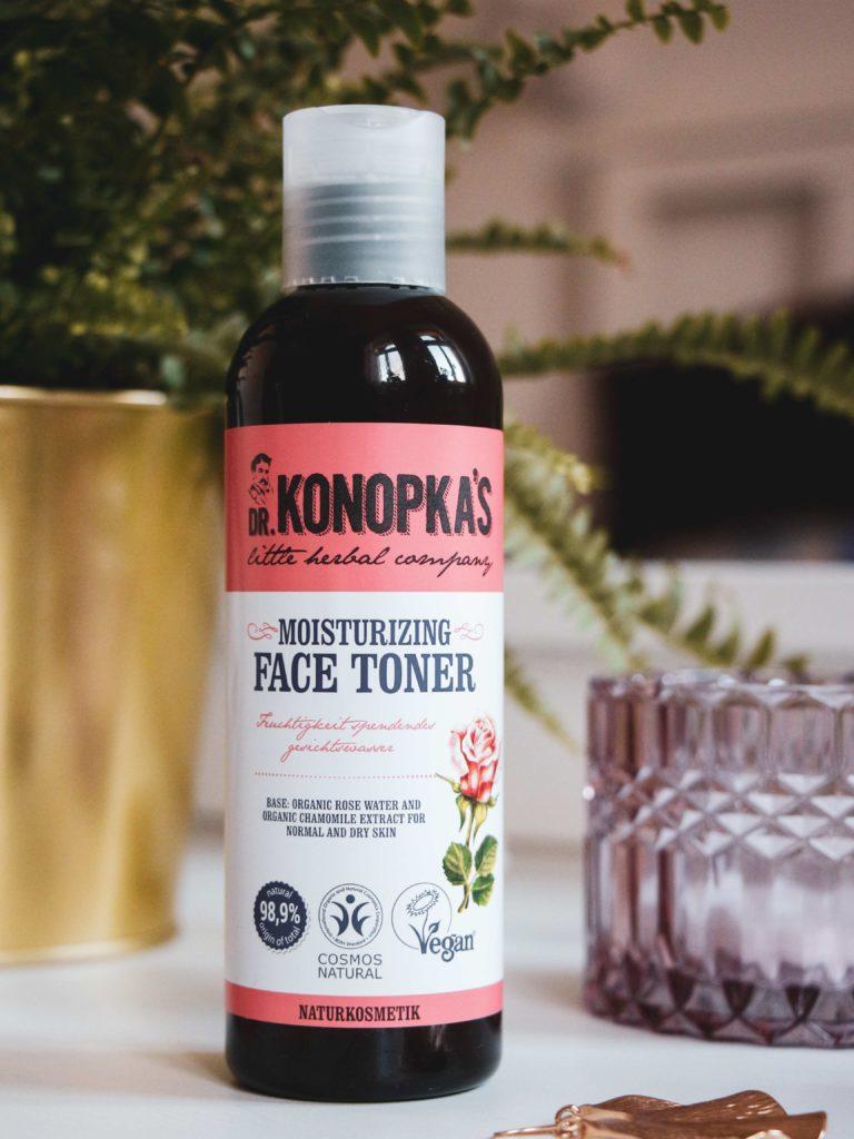 Recenze hydratačního tonika Dr. Konopka's.