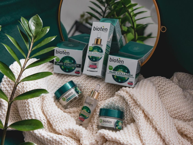 Recenze kosmetiky bioten multi COLLAGEN: Pleťové sérum, denní krém, noční krém.