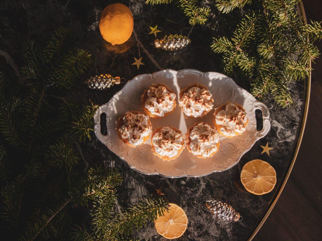 Recept na bezlepkové košíčky plněné citrónovým krémem Lemon Curd ve stylu Tarteletek.