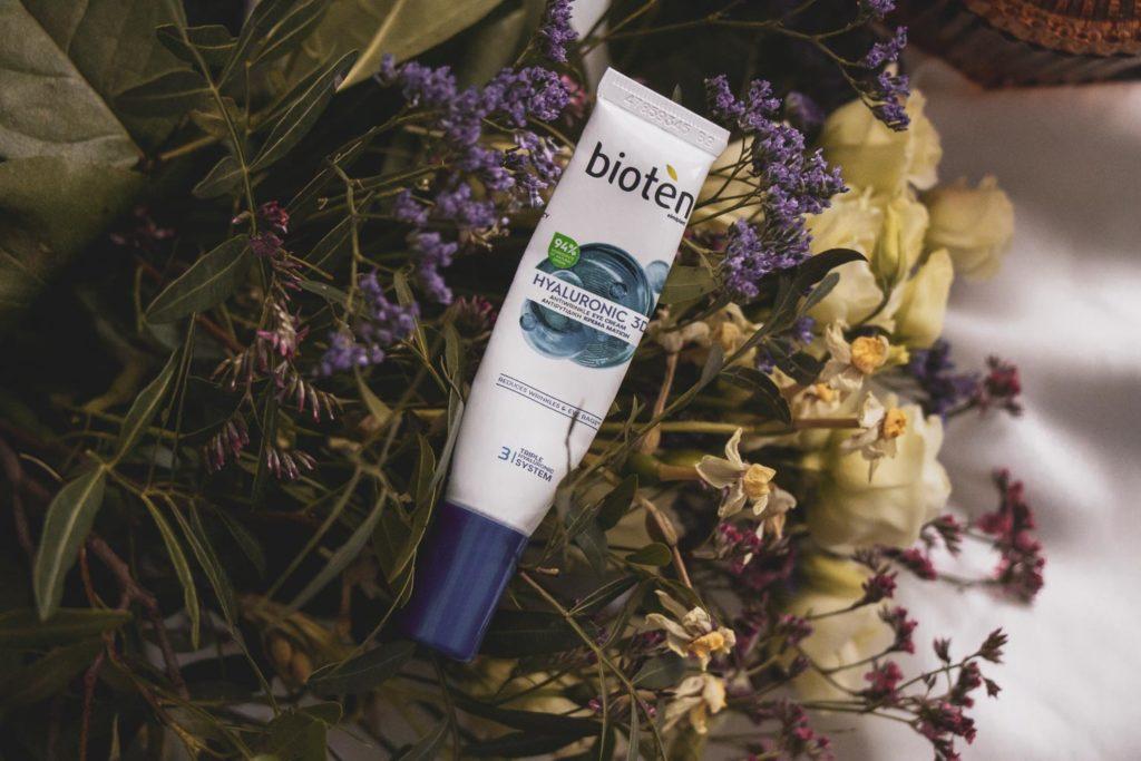 Recenze Bioten pleťového tonika Skin Moisture a Bioten očního krému Hyaluronic 3D.