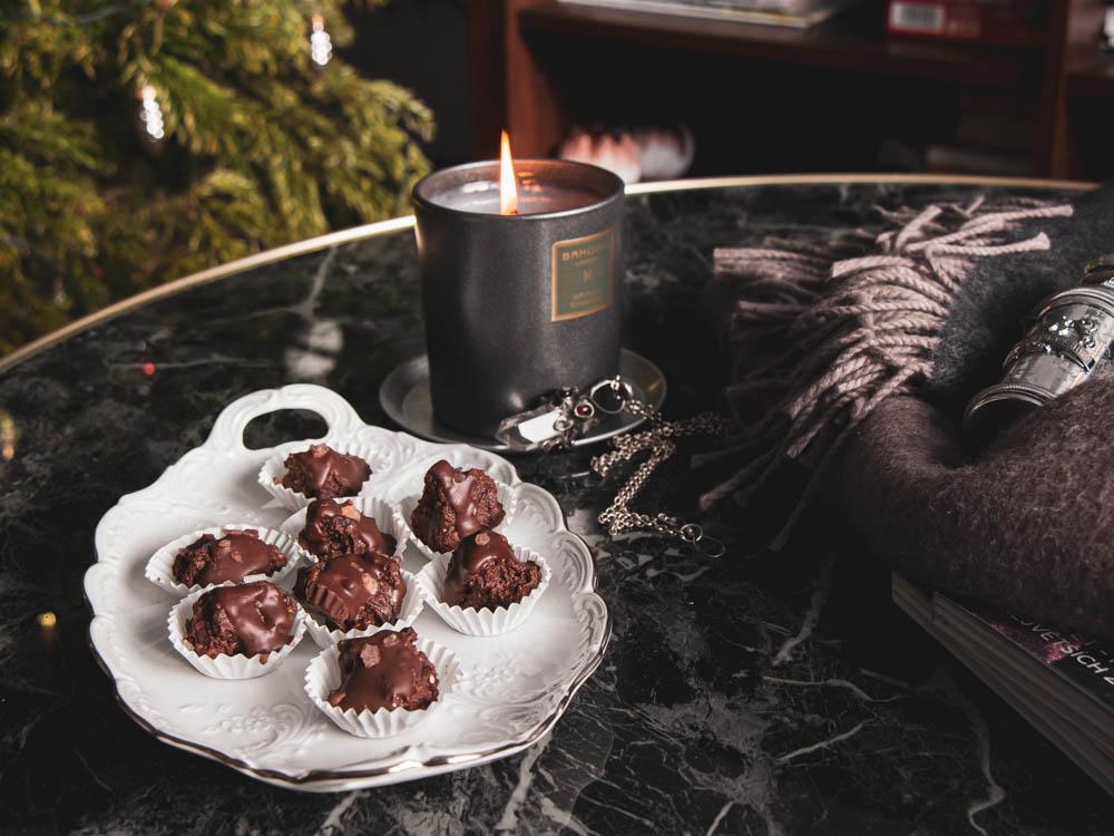 Valentánský recept: Čokoládové pralinky s rakytníkem