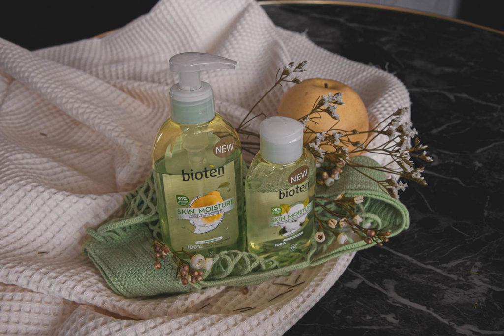 Recenze čistícího gelu a odličovače Skin moisture od Bioten.