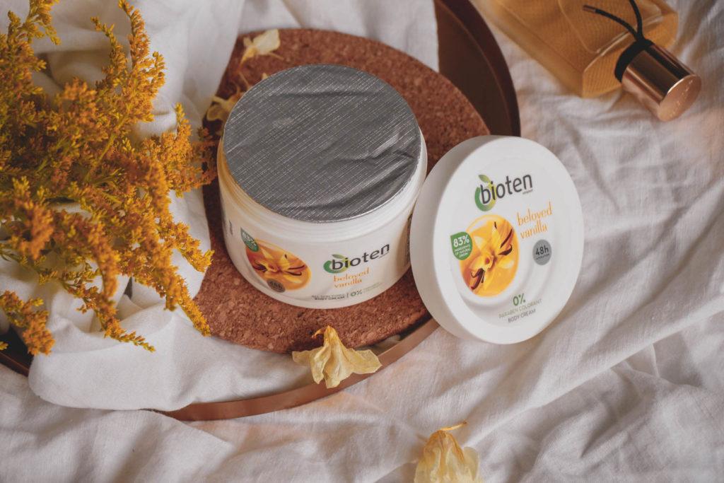 Recenze tělového krému Bioten s vanilkou.