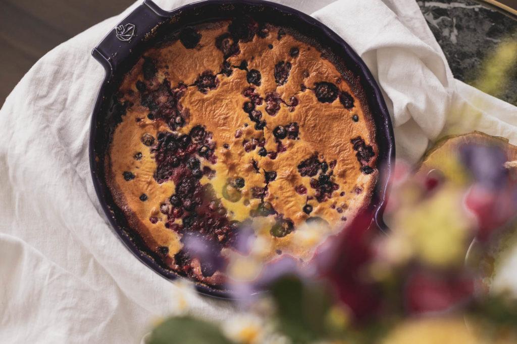 Recept: Bublanina bez lepku, vynikající francouzský Clafoutis.