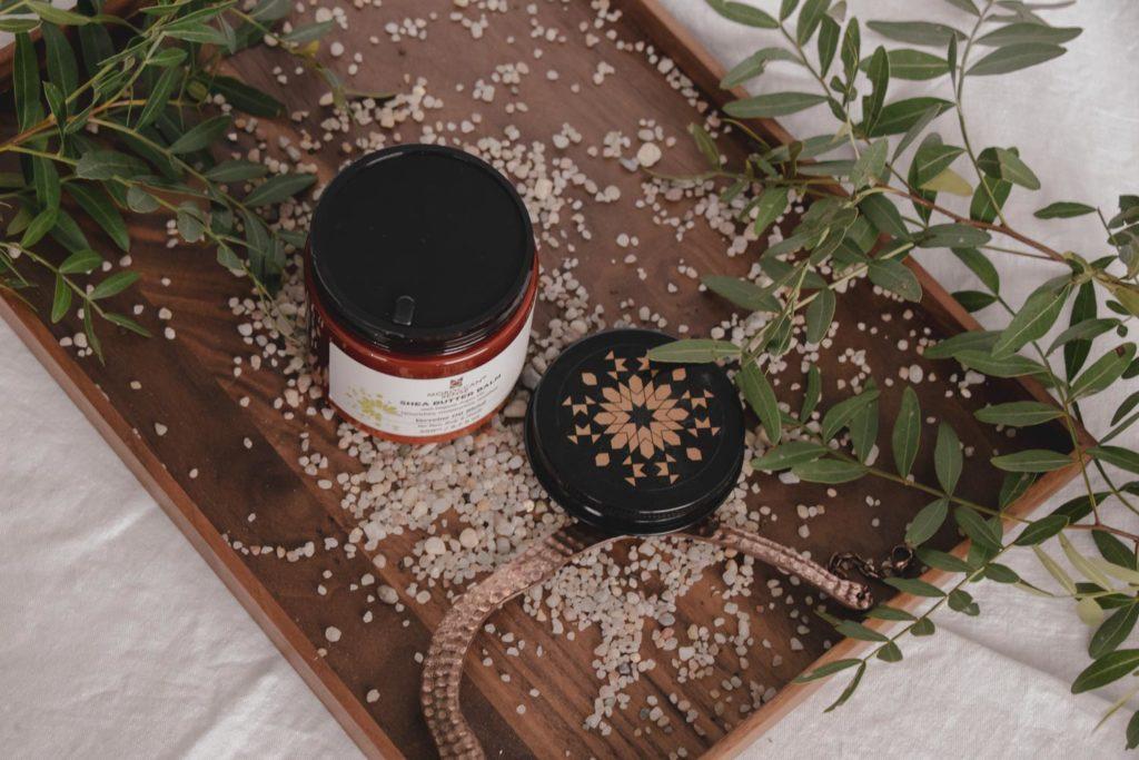 Recenze body wash, bodylotion a bambuckého balzámu Moroccan Sense Verveine.