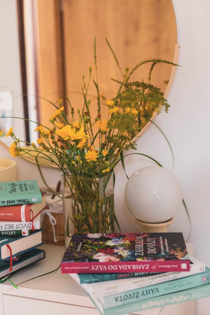 Zahrada do vázy - recenze knihy od Evy Brixi